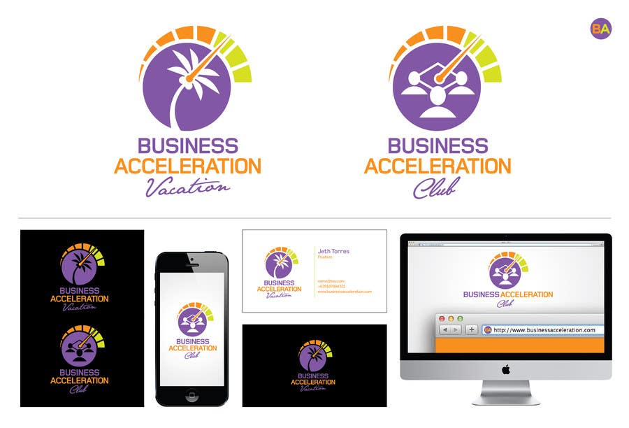#122 for Design a Logo for Business Acceleration Vacation / Business Acceleration Club by jethtorres