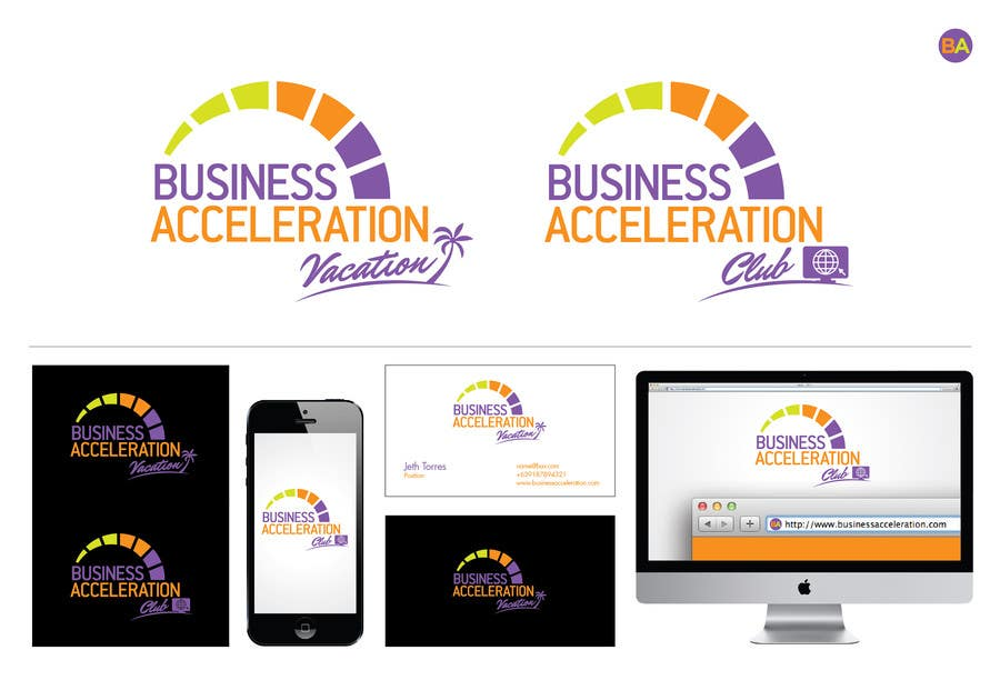 #129 for Design a Logo for Business Acceleration Vacation / Business Acceleration Club by jethtorres