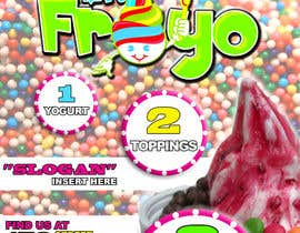 #6 for MrFroyo flyer design af danikdesign