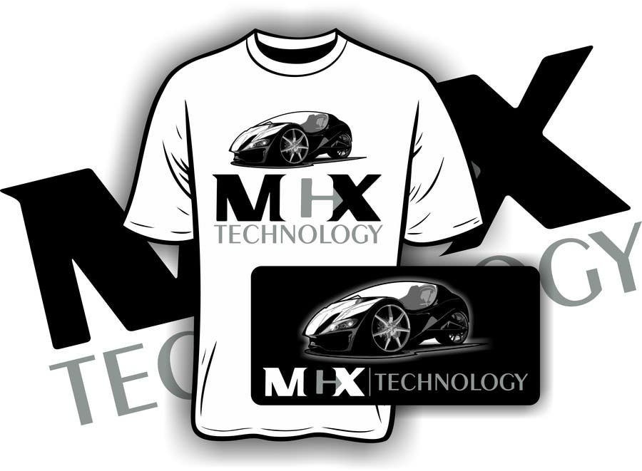 #35 for Design logo and product for tshirt, website and poster by iYNKBRANE