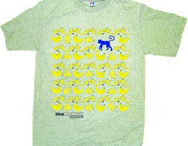 #8 para Design a T-Shirt for Blue Monkey Clothing por EliGrabazs