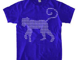 nº 13 pour Design a T-Shirt for Blue Monkey Clothing par meeka305