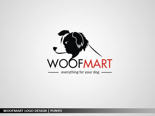 #49 for Logo design for Woof Mart by punyo