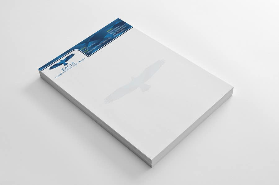 #55 for Design my Company Letterhead by HammyHS