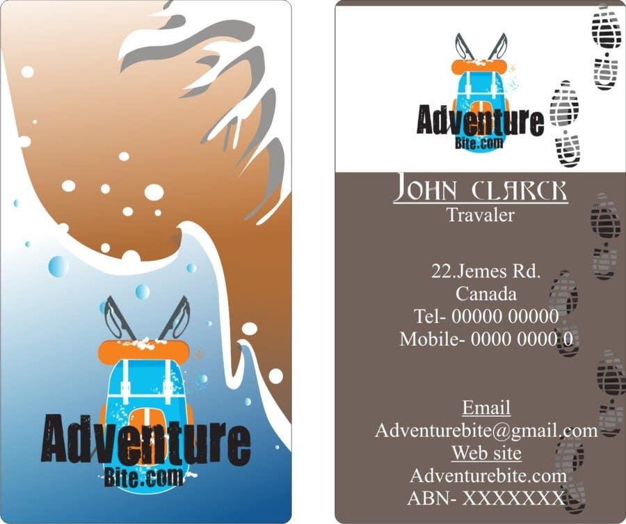 #13 for Design some Business Cards for AdventureBite.com by pathumsameera