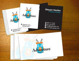 #1 untuk Design some Business Cards for AdventureBite.com oleh stoyanvasilev98