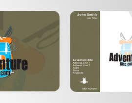 #2 para Design some Business Cards for AdventureBite.com por GreenGooDesign