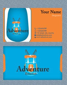 #21 for Design some Business Cards for AdventureBite.com by Masumulhaque