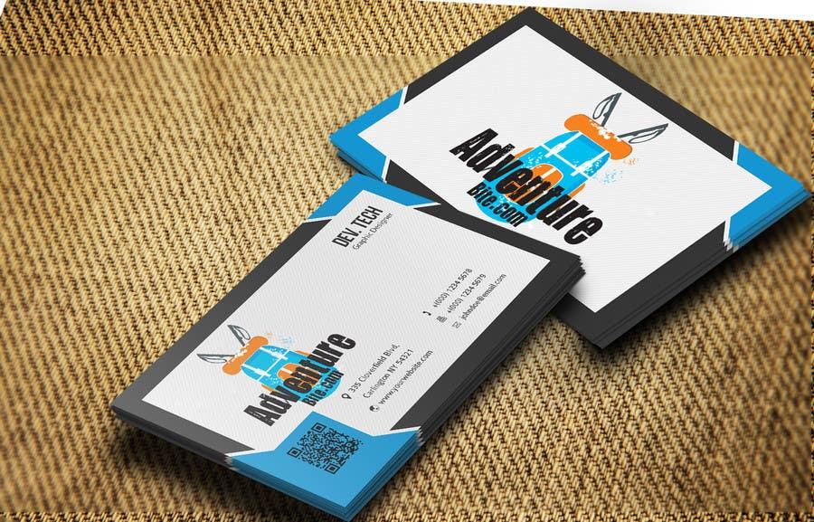 #14 for Design some Business Cards for AdventureBite.com by developingtech