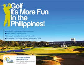 #18 para Poster/ Advertisement for Golf Holidays  - RUSH Deadline Sep.13 por samazran