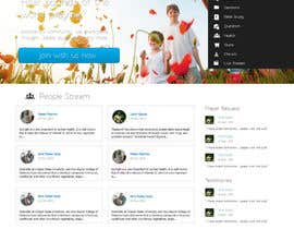 #3 para Design a Website for my social networking site por Elvnineod