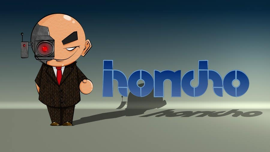 #66 for Design a 2D/3D Illustration/Cartoon/Mascot for Honcho by thenomobs