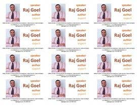 #1 untuk Design some Business Cards for Raj Goel oleh ioanatama