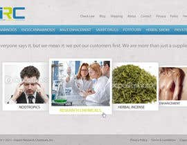 dragnoir tarafından Wordpress Theme Design for Import Research Chemicals için no 11