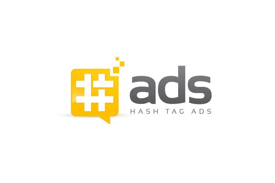Penyertaan Peraduan #107 untuk Design a Logo for Hash Tag Ads