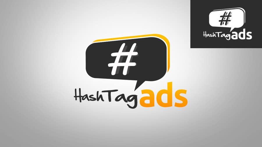Penyertaan Peraduan #135 untuk Design a Logo for Hash Tag Ads