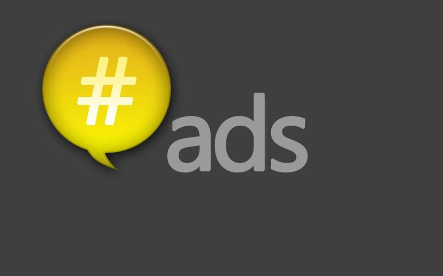 Penyertaan Peraduan #251 untuk Design a Logo for Hash Tag Ads