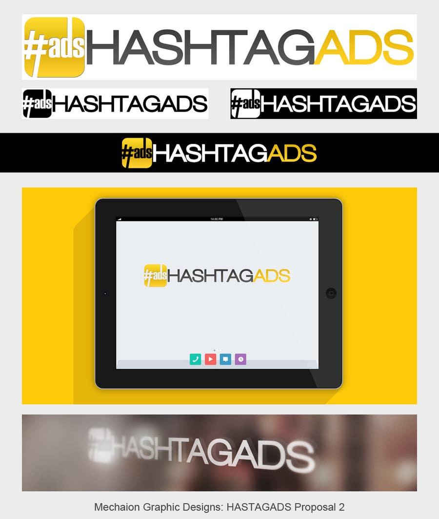 Penyertaan Peraduan #183 untuk Design a Logo for Hash Tag Ads
