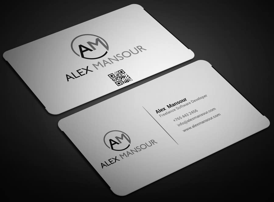 Entry #26 by adarshdk for Business Card design for Freelance ...