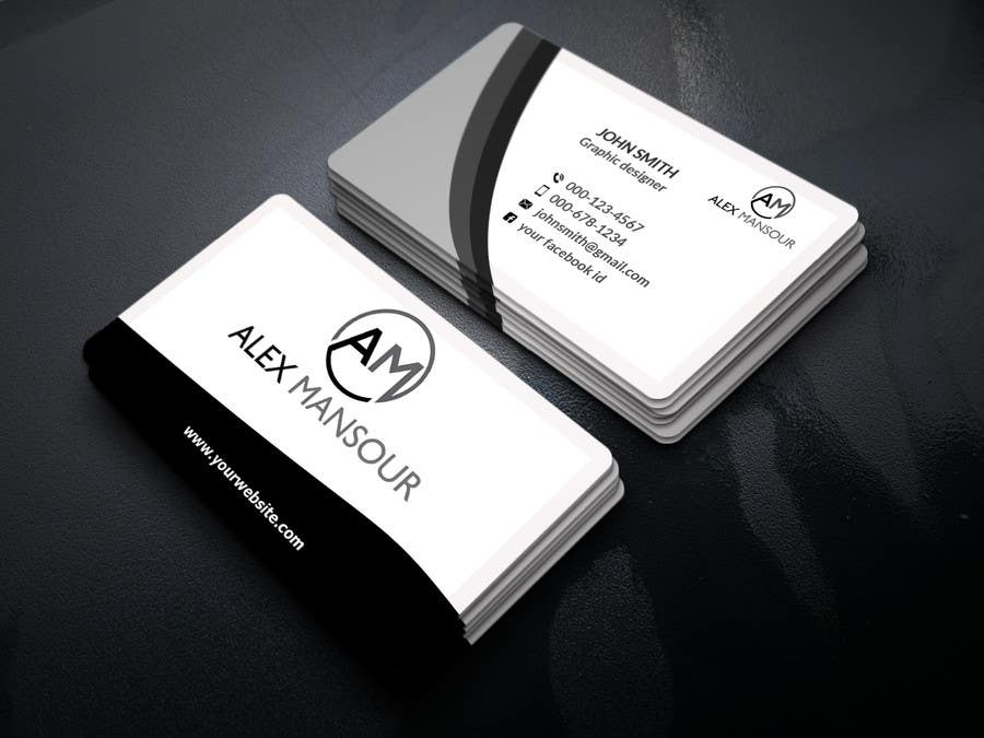 Entry #38 by salmasadia940 for Business Card design for Freelance ...