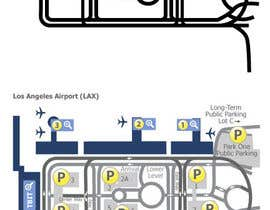 #4 for Airport terminal map af BlondieCRO