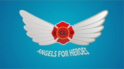 "#24 para Design a Logo for ""Angels for Heroes"" por eltorozzz"