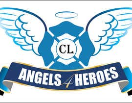 "#18 untuk Design a Logo for ""Angels for Heroes"" oleh swethanagaraj"