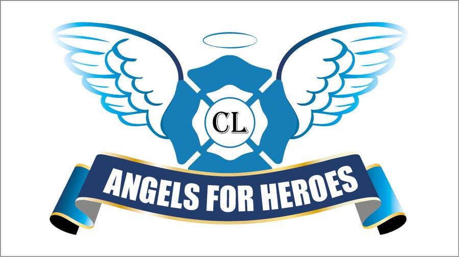 """Penyertaan Peraduan #29 untuk Design a Logo for """"Angels for Heroes"""""""