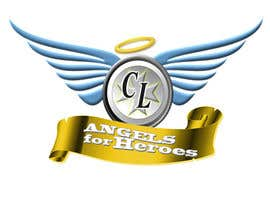 "#23 untuk Design a Logo for ""Angels for Heroes"" oleh gacutan"