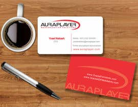 #15 for Design some Business Cards for AuraPlayer by mgliviu