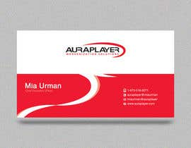 #31 for Design some Business Cards for AuraPlayer by i4consul