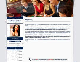 nº 30 pour Website Design for A Leading Live Casino Software Provider par emdes19