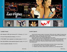 nº 8 pour Website Design for A Leading Live Casino Software Provider par CTRaul
