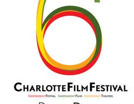 #86 for Design materials for the Charlotte International Film Festival by astrofish