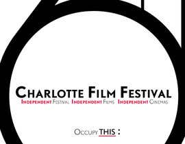 #75 untuk Design materials for the Charlotte International Film Festival oleh astrofish