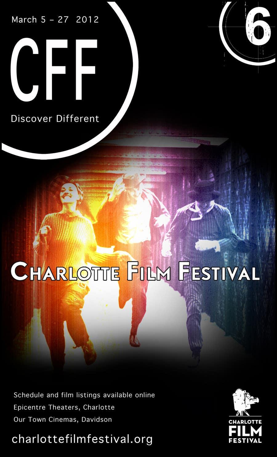 Inscrição nº 102 do Concurso para Design materials for the Charlotte International Film Festival