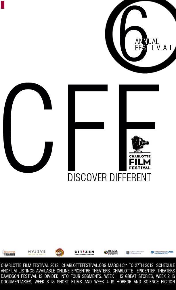 Inscrição nº 9 do Concurso para Design materials for the Charlotte International Film Festival