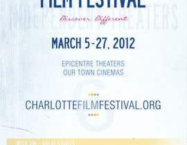 nº 52 pour Design materials for the Charlotte International Film Festival par Identity12