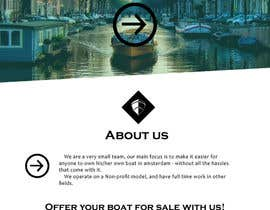 nº 7 pour Design a Website Mockup for netboats.org par UmeSake