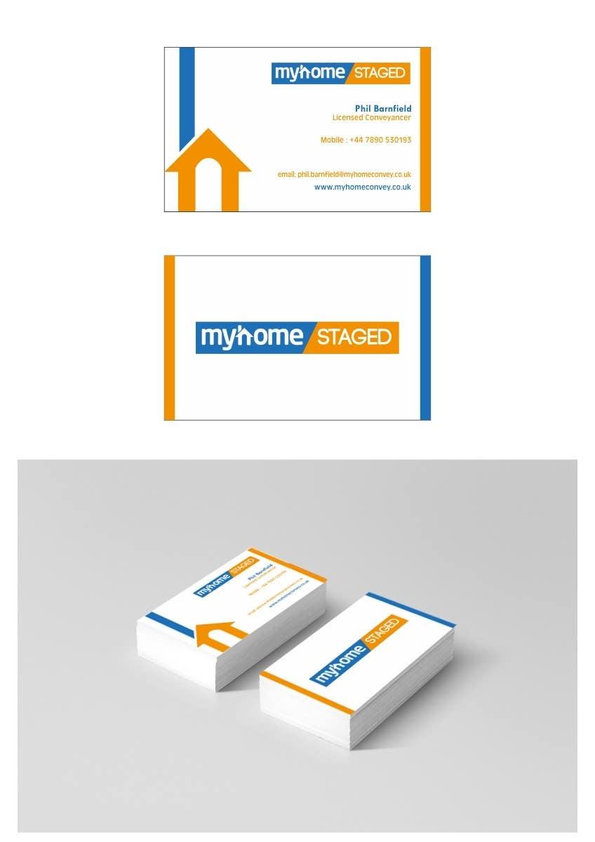 Penyertaan Peraduan #28 untuk Business Card Design for Real Estate Lawyer with revision of logo.