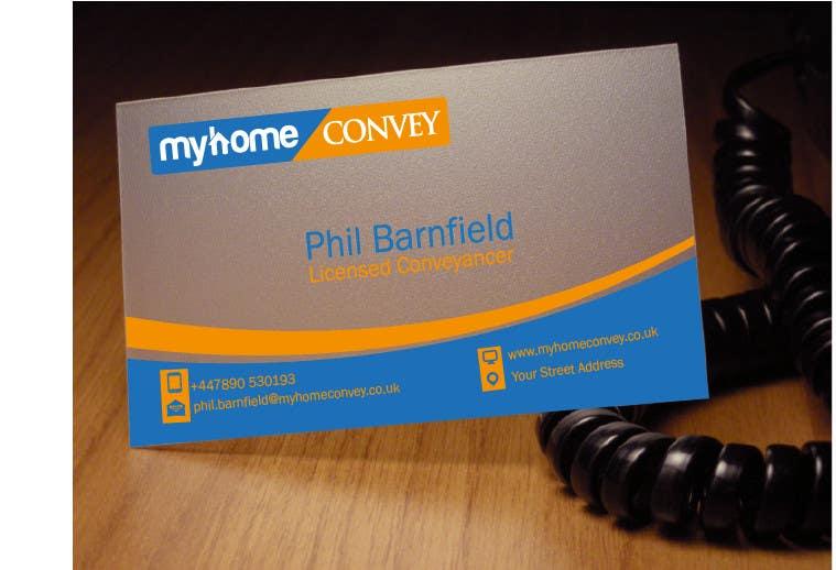 Penyertaan Peraduan #29 untuk Business Card Design for Real Estate Lawyer with revision of logo.
