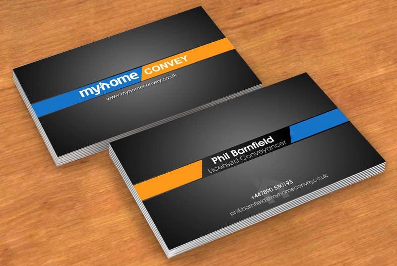 Penyertaan Peraduan #50 untuk Business Card Design for Real Estate Lawyer with revision of logo.