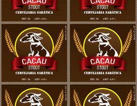 #11 para Cervejaria Sabática - Rótulo da Cerveja Cacau por cristiancaliman