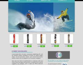 al3ksx tarafından Design a website and store for Kyneee Snowboards için no 15