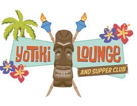 crvdesign tarafından Design a Logo for a Tiki Bar / Restaurant - Artists with 50's flair wanted! için no 90
