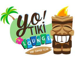 Elars tarafından Design a Logo for a Tiki Bar / Restaurant - Artists with 50's flair wanted! için no 95