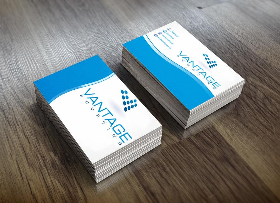 #61 for Business Card with Existing logo by hamzache