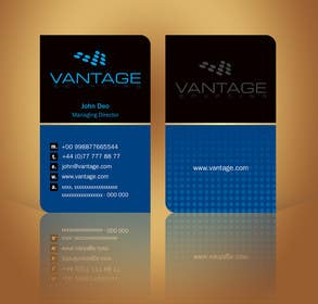 #69 for Business Card with Existing logo by linokvarghese