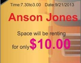 "poojark tarafından Design an Advertisement for Anson Jones ES ""Garage Sale"" için no 1"