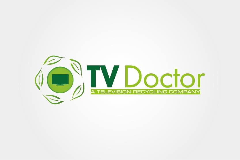 Penyertaan Peraduan #134 untuk Design a Logo for tv doctor recycling